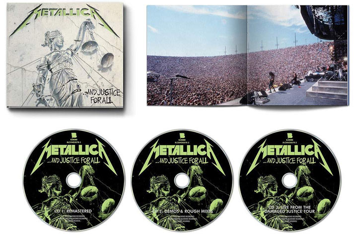 Metallica-Justice-for-all-CD-edition-remasterise-remastered