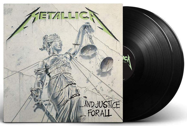 Metallica-justice-for-all-double-vinyle-LP-limited
