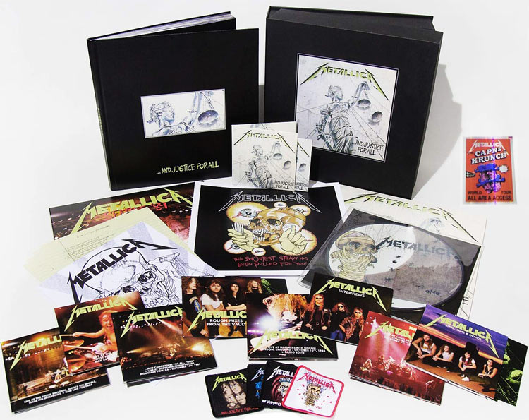 coffret-collector-Metallica-Justice-for-all-2018-edition-limite-CD-Vinyle-Box