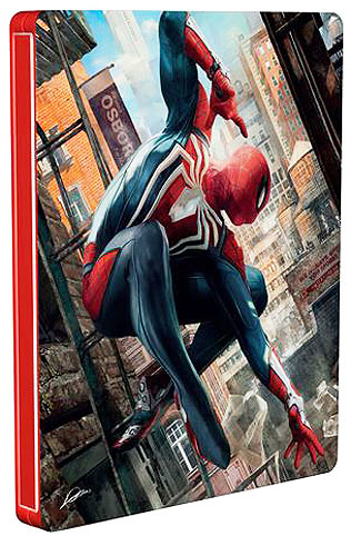 Steelbook-marvel-Spider-man-PS4-2018-edition-collector-gratuit-offre-fnac