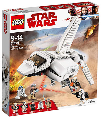 Vaisseau-lego-Star-Wars-imperial-landing-craft-medicale-75221