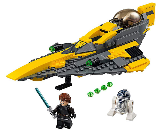 Anakin jedi starfighter lego star wars 75214 vaisseau - Lego star wars vaisseau anakin ...
