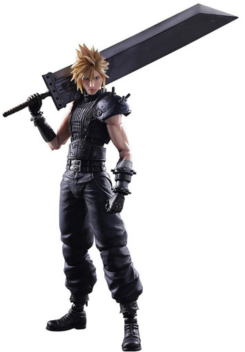 Figurine-Cloud-Final-Fantasy-play-arts-edition-collector-limitee