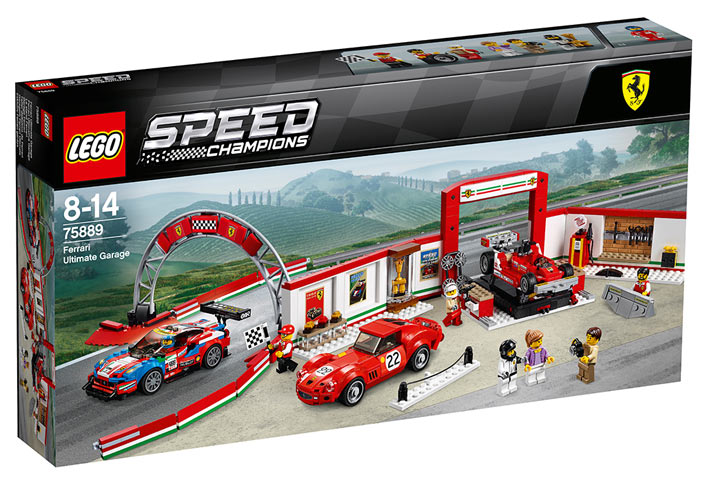 Circuit-Lego-75889-Ferrari-Ultimate-Garage-collection