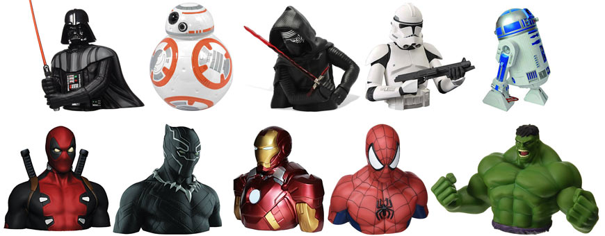 Tirelires-Marvel-Star-Wars