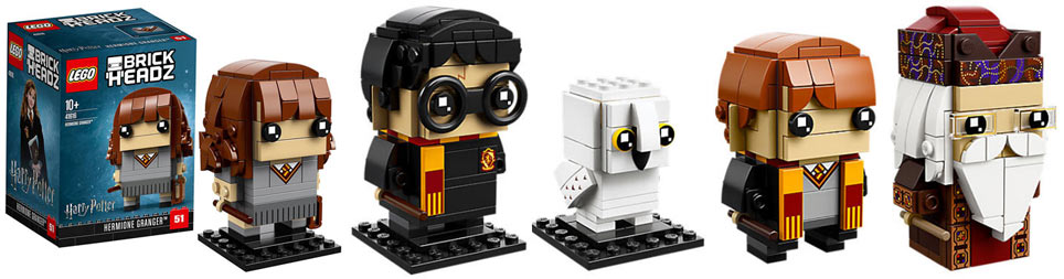 Figurine-lego-harry-potter-brickheadz-2018