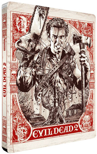 Steelbook-collector-Blu-ray-Evil-Dead-2-2018