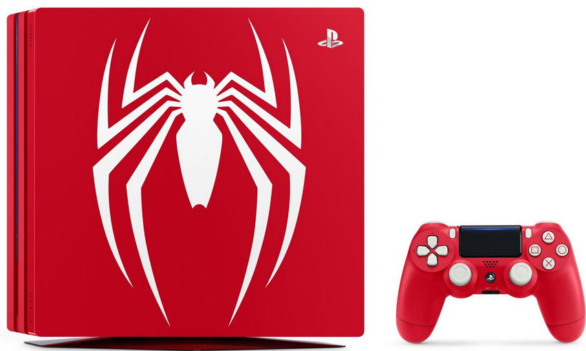 Console-PS4-Spiderman-edition-limitee-collector-pro