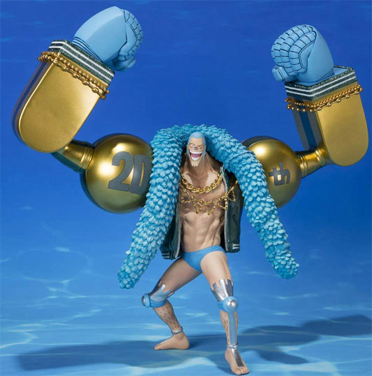 Franky-figurine-collector-collection-One-Piece-Figuarts-Zero-20th