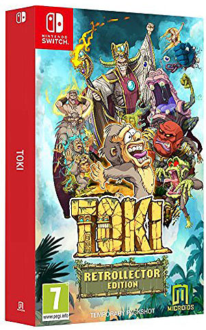 Toki-coffret-collector-remake-Nintendo-Switch-precommande-noel
