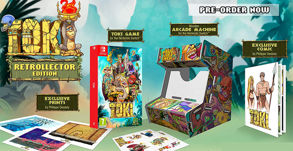 Toki-edition-collector-nintendo-switch-arcade-retro-vintage
