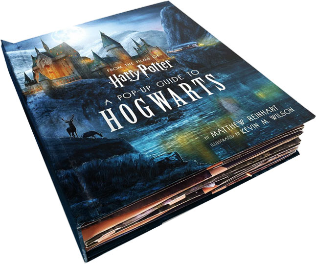 Livre Pop Up Harry Potter
