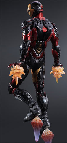 Figurine-square-enix-iron-man