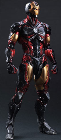 Iron-man-figurine-collector-play-arts-Kai