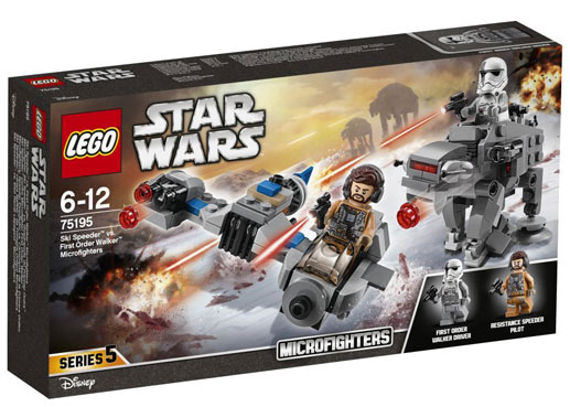 LEGO-75195-Star-Wars-Microfighter-Ski-Speeder-Quadripode-Premier Ordre-2018