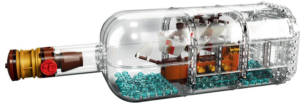 Lego-21313-Leviathan-collection-LEGO-ideas ship bottle