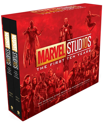 Marvel-artbook-collector-first-ten-years-livre-collection