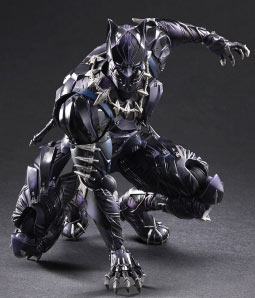 figurine-Black-Panther-collector-marvel