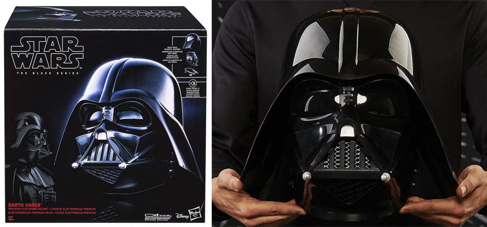 casque collector star wars dark vador black series