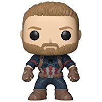 Funko pop figurine captain america infinity War