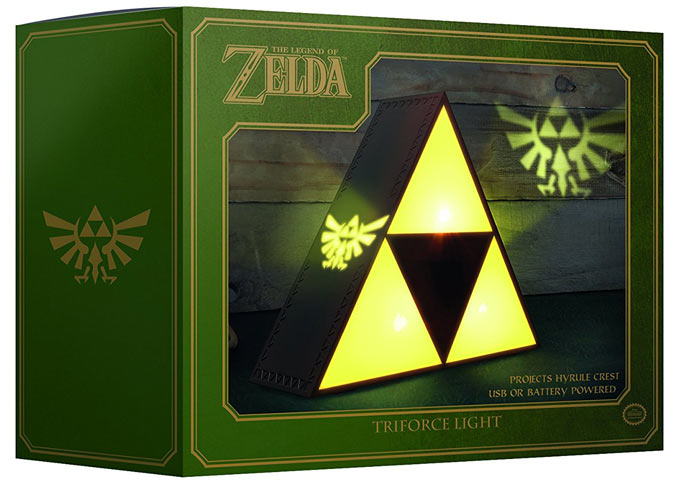 Lampe-triforce-Zelda-light-collection