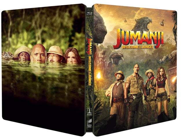Steelbook-Jumanji-dwayne-johnson-2018-remake-nouveau-film