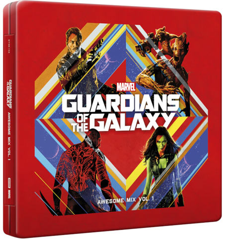 Bande Originale Soundtrack Steelbook Gardiens De La Galaxie