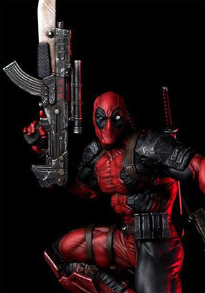 Deadpool-2-Figurine-collector-collection-rare