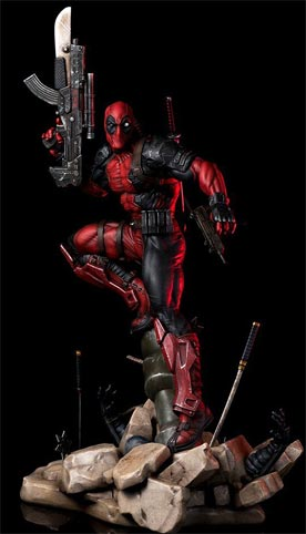 Deadpool-Figurine-collector-collection-rare