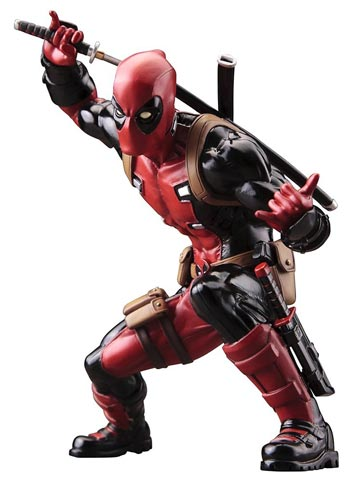 Figurine-Kotobukiya-Deadpool-Cllector-collection
