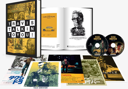 Taxi driver Bluray DVD 4k collector