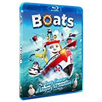Boats dessin anime Blu-ray DVD