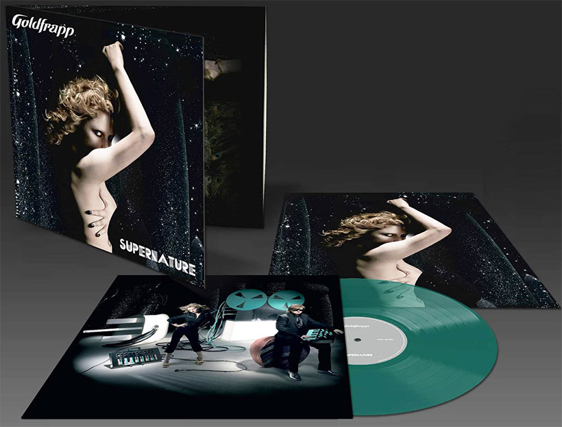 Goldfrapp supernature Vinyle LP edition limitee