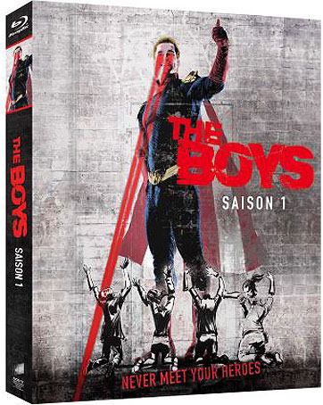 The boys coffret integrale saison 1 Blu ray DVD amazon prime