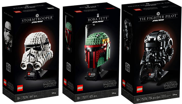 casque Helmet Lego star wars
