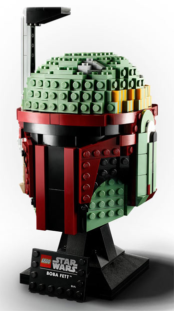 casque lego star wars boba fett