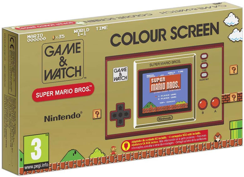 Console super mario Bros nintendo 35th game watch