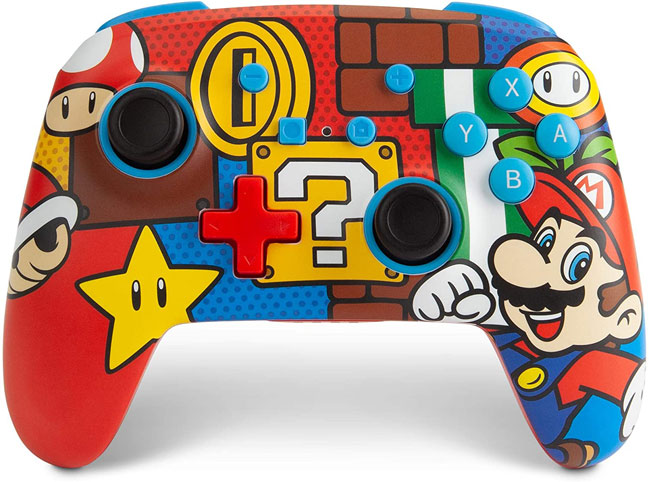 Manette nintendo Switch super mario power a