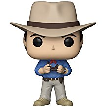 funko Jurassic Park Dr Alan Grant collection