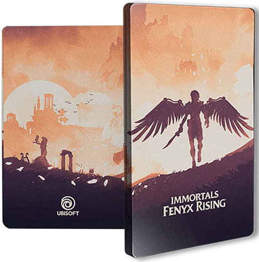 immortals fenyx Rising Steelbook collector PS4 PS5 Nintendo Switch