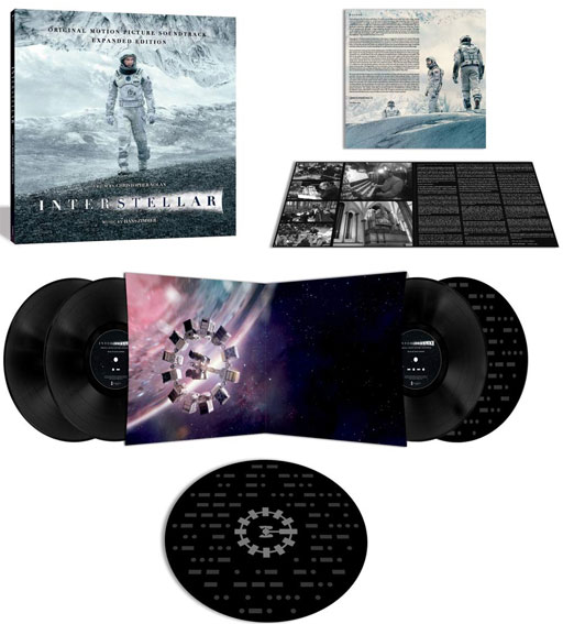 Interstellar 4 Vinyles LP 4LP edition expanded 2020 OST Soundtrack bande originale