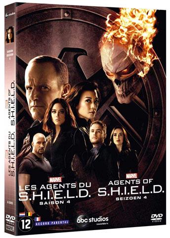 Série Agents du Shield S H I E L D saison 1 à 5 Bluray DVD