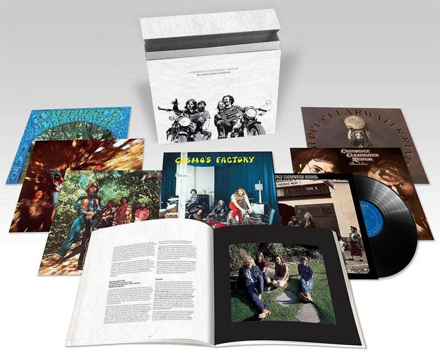 Creedence-clearwater-coffret-integrale-Vinyle-LP-edition-colletor-limitee-box-set
