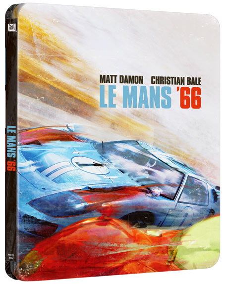 steelbook collector le mans 66 Blu ray 4K