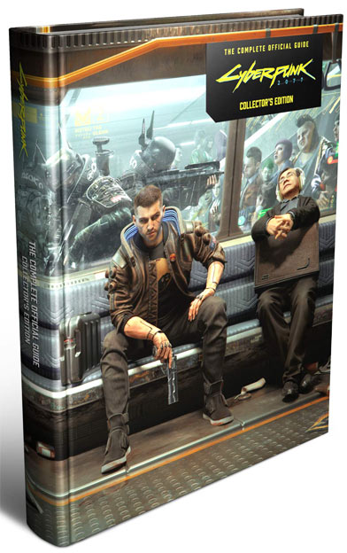 guide de jeu cyberpunk collector edition