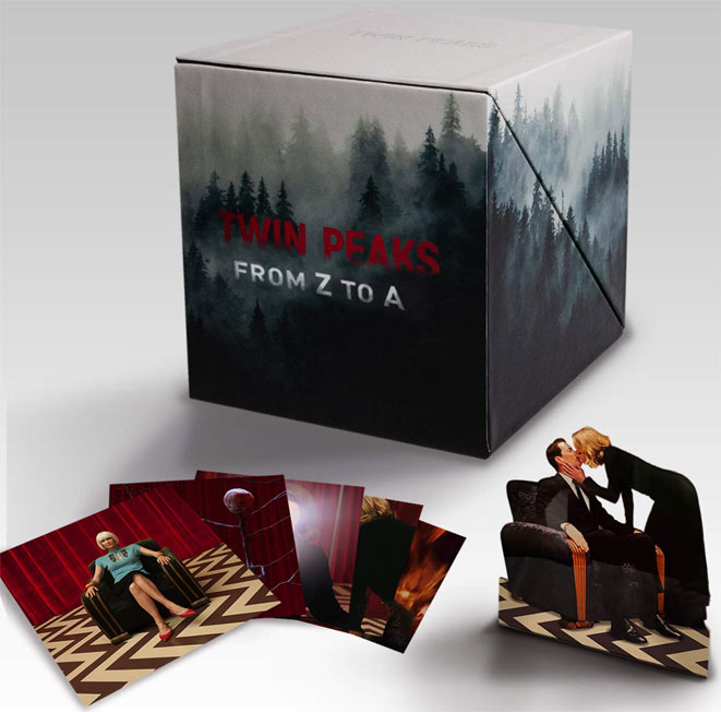 Coffret collector integrale twin peaks film et serie tv Blu ray 4K