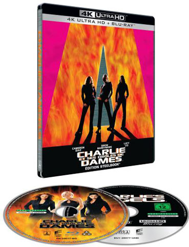 Seelbook charlies angels Blu ray 4K Ultra HD UHD