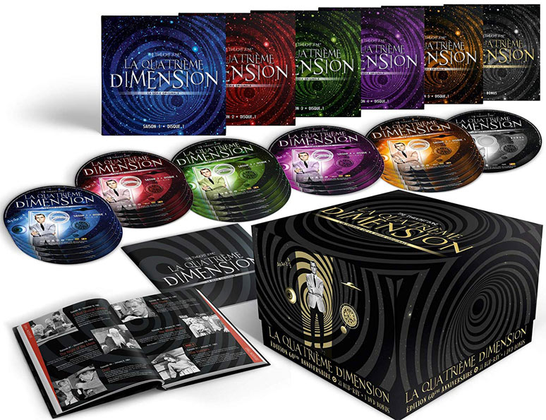 la quatrieme dimension coffret integrale Blu ray