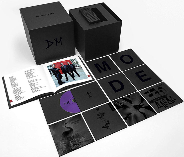 Depeche mode coffret integrale edition collector limitee CD complete album collection