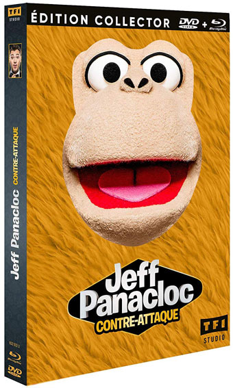 Jeff Panacloc contre attaque nouveau spectacle Blu ray DVD edition collector